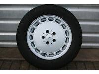 Mercedes Sportline W201 W124 190e forged alloy wheel - 7x15 - A2014001302