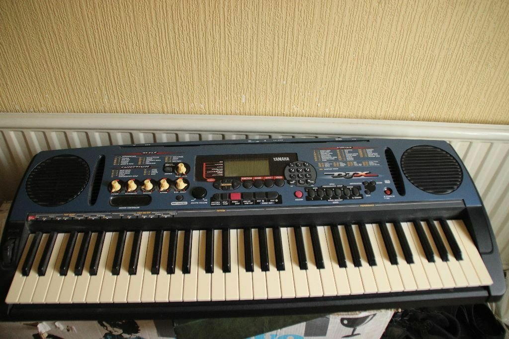 Yamaha Djx Psr D1 With Psu In Good Working Order In