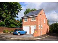 3 Bed Det. Home With Study In Lanchester, Ample Parking, Electric Garage, Alarmed, D/Glazed £750 PCM