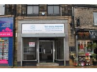 Shop Unit for Rent - shop to let in central location, Cleckheaton, low rental, rent free period
