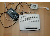 Router wifi modem for internet on laptops PC computers etc
