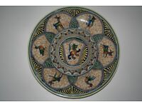 Coimbra Hand-painted Wall Plate 2 of 4