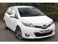 Toyota Yaris VVT-I ICON PLUS (white) 2014-06-20
