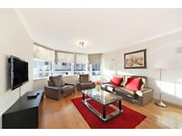PRICE REDUCTION !!!! SPACIOUS TWO BED TWO BATH FLAT OVERLOOKING HYDE PARK !!!! PORTERED BLOCK !!