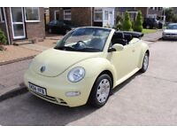 Volkswagen Beetle Convertible 1.6 - Low Miles & Immaculate Condition