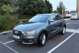 2014 Audi Q3 Grey 2.0l TDI Bluetooth, Sat Nav (140BHP) (14 Plate)