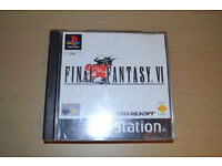 Final Fantasy VI and VIII (6 and 8) for PS1