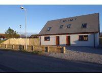 Bran New 2 bedrooms semi detached house 50m from sea cost In sea board village BALINTORE IV20 1UW