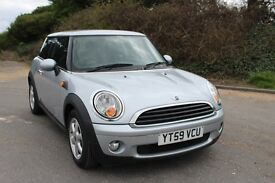 FROM £30 PER WEEK 2009 MINI ONE HATCHBACK 1.4 PETROL MANUAL SILVER LOW MILES CHEAP INSURANCE