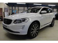 Volvo XC60 D5 SE LUX NAV AWD [SAT NAV / LEATHER / DAB RADIO] (finished in ice white) 2014
