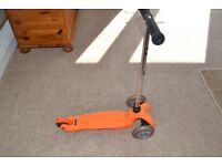 CHILDS MINI MICRO SCOOTER - EXCELLENT CONDITION - Ideal for 3 to 5-year-olds