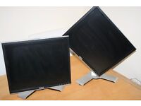 2 X DELL Multi Rotational LCD Screens. £18ea or both for £30.00