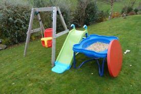 Plum Toddler Swing, Slide and Sandpit