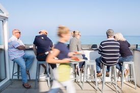Waiting staff wanted at Porthmeor Beach Cafe