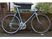 "Ernie Clements Super Pro model Racing Bike. 23"", Campagnolo components, Tange champion forks."