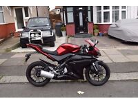 Yamaha yzf r125 (2015) (delivery available)