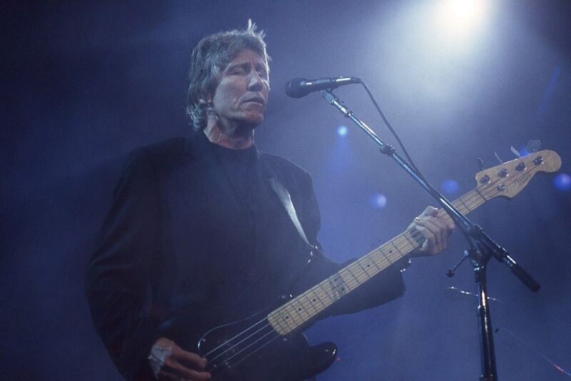 Roger Waters, 1999, 1-of-a-kind!   Never Printed!! Original 35mm color film