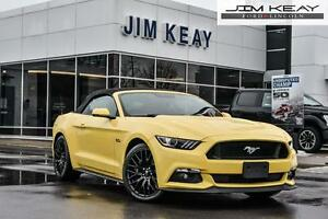 2016 Ford Mustang GT CONVERTIBLE PREMIUM W/ NAVIGATION, GT PERFO