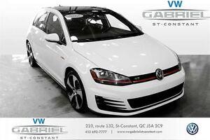 2015 Volkswagen GTI Autobahn DSG FENDER, CUIR, TOIT OUVRANT