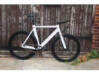 GOKU CYCLES Aluminium Alloy Frame Single speed road TRACK bike fixed gear racing bike wsc