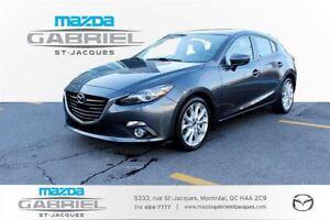 2015 Mazda MAZDA3 SPORT SPORT GT CRUISE+BLUETOOTH+CAMERA DE RECU