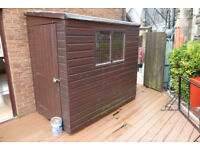 SHED FULL T&G SHIPLAP 7FT X 4FT JUST OVER £125 NO OFFERS