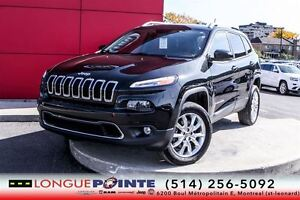 2014 Jeep Cherokee LIMITED+CUIR +GPS +TOIT