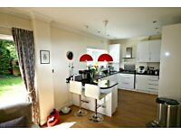 STUNNING THREE BED GARDEN FLAT. OWN GARDEN AND 250 YARDS TO TUBE. SEE PHOTOS THEN CALL 02084594555