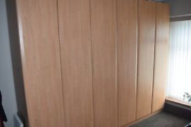 3 x Wardrobes, very good condition