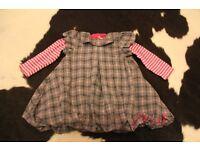 Mamas and Papas girls dress 12-18 months