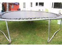 14 foot trampoline heavy duty