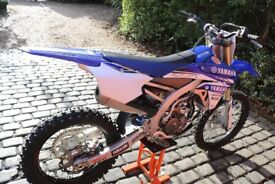Yamaha YZ 250 F 2017 Motorbike. Bought from Fowlers in Bristol from new. Off Road bike