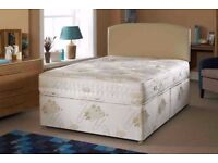 **100% GUARANTEED PRICE!*Small Double Bed/Double Bed/Single/Kingsize With Crown Orthopaedic Mattress