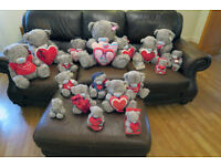 19x Me To You Bears / Blue Nose Bears Huge bulk lot with tags stuffed toys collectible bears
