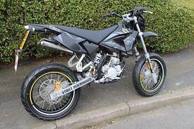 Want 50cc Geared Bike (Derbi, Aprilia, Rieju, CPI ...)