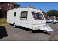6 berth touring caravan Bailey Ranger 550/6
