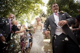 Affordable wedding photography - £99 midweek offer!