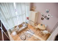 SHORT LET *BIG SPLIT LEVEL STUDIO from now ****£95 per night ***up to 4 people *ZONE 1 /NOTTING HILL