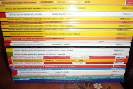 Various study books / past papers - mainly Leckie and Leckie - all very good to excellent condition.