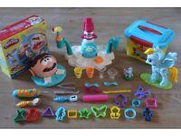 My Little Pony Toy Bundle Wheel, Hair Spa, Hot Air Baloon, Flipping Rainbow Dash