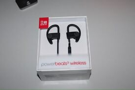 Beats by dre powerbeats 3 NEW in box BLACK RED WHITE