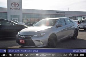 2015 Toyota Camry XSE one owner low kilometers