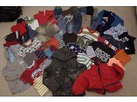 * MASSIVE CLOTHES BUNDLE * BOYS age 2 - 3y (24-36months) - 45 ITEMS, 3 COATS!