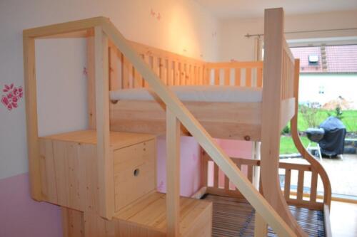 Etagenbett Zirbe : Etagenbett hochbett aus zirbenholz stabile handarbeit in bayern