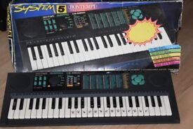 BONTEMPI KS-5600 KEYBOARD/POWER ADAPTER INCLUDED CANBE SEENWORKING