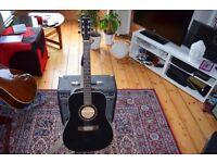 Norman B20 Black Acoustic Guitar excellent condition