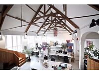Office Space - Large desk to rent in beautiful converted chapel