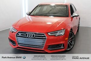 2018 Audi S4 Sedan 3.0T / Tiptronic / Nav / Camera / 354Hp