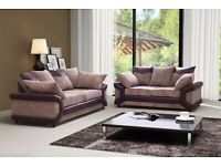 Designer Furniture-NEW DINO JUMBO CORD FABRIC LEFT OR RIGHT CORNER OR 3+2 SOFA SET -CALL NOW