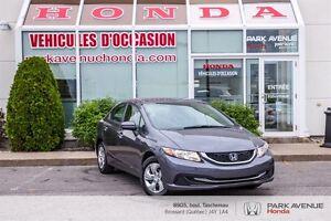 2014 Honda Civic LX* Sièges chauffants* Climatisation*Bluetooth*